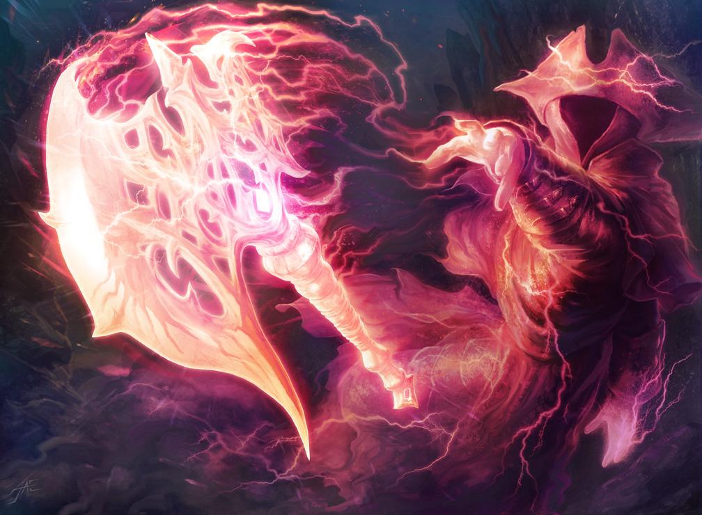 Lightning Axe by JasonEngle