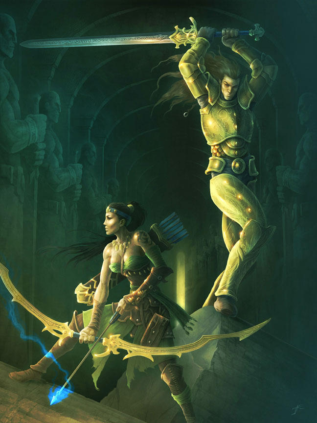 Hall of Heroes by JasonEngle