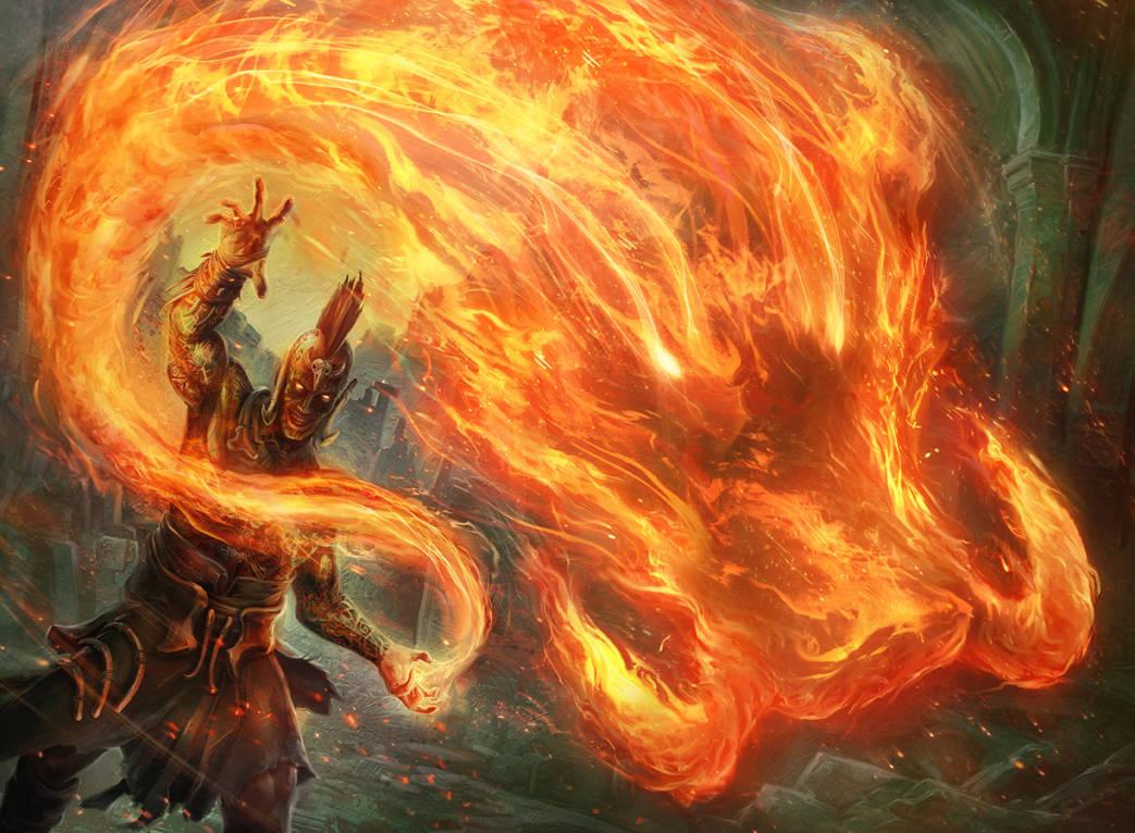 Flames of the Raze-Boar by JasonEngle