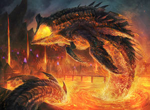 Lava Serpent