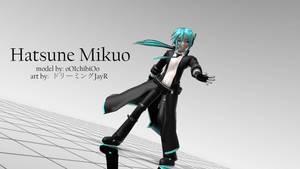 [MMD 3D Artwork] Hatsune Mikuo by BenjaminRomero