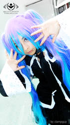 miku holic cosplay by clampguy
