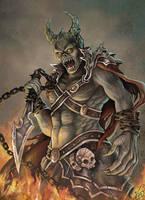 Dark Enemy by azparren-victoria