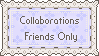 Collaborations Friends Only by PaperJax