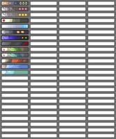Colour Palettes - Pokemon by PaperJax