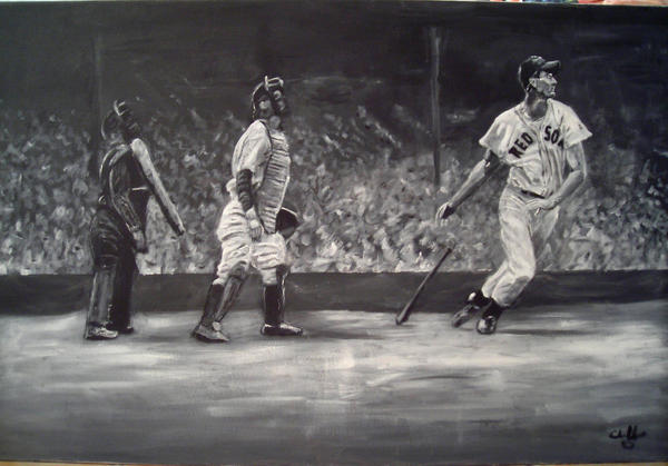 ted williams by cliford417