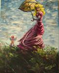 Peach Princess my painting