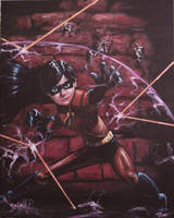 Violet incredible my painting by cliford417