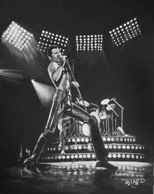 Freddie Mercury my painting by cliford417