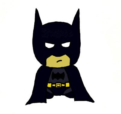 Cute Batman chibi by BahLollypop on DeviantArt