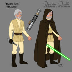 Master Luke - Costume Design June 22nd 2015 by qbgchaille