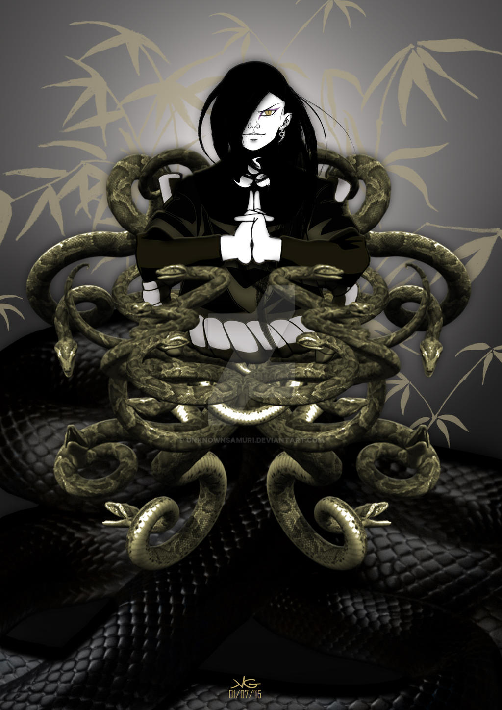 Snake Sage Orochimaru by unknownsamuri on DeviantArt