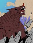 Baragon's roar