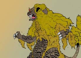 King Caesar the Guardian Monster by rebis