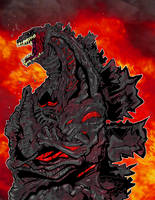 Shin Godzilla by rebis