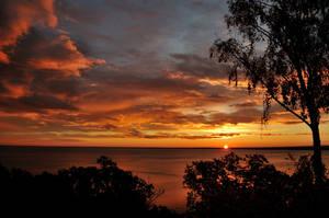 sunrise by the lake I by torobala