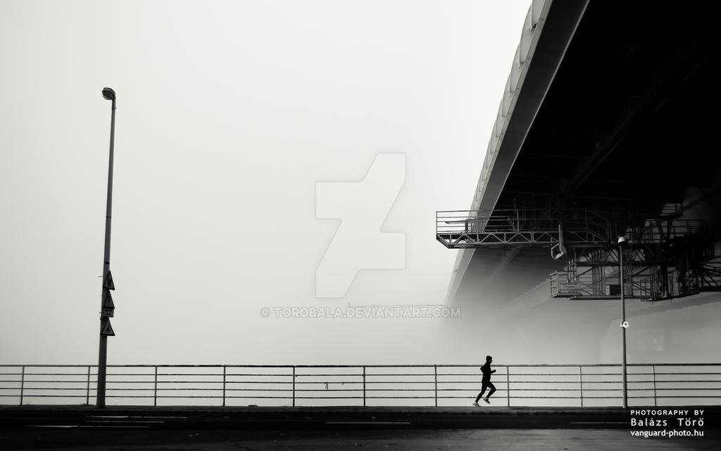 Lonely runner by torobala