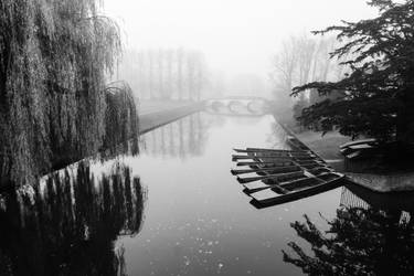 Foggy Morning In Cambridge II (BW) by torobala
