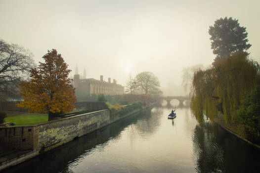 Foggy Morning In Cambridge IV