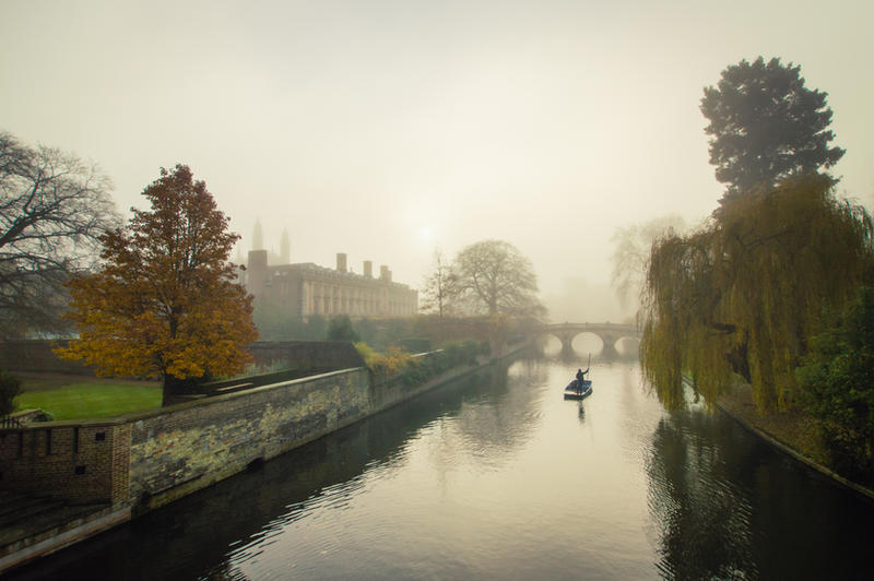 Foggy Morning In Cambridge IV by torobala