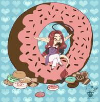 Doughnut Day by Myabun