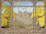 Pern dragon: Kadanzer Tapestry