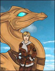Pern: Ryuri and Ceorth by Eregyrn