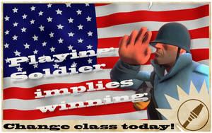 TF2 Propaganda Poster by foxblock
