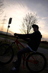 Brother on a Bike