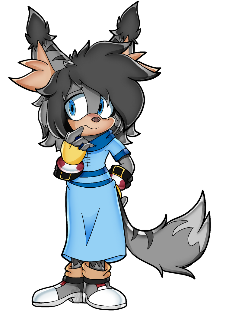 Gifted Artwork - Mia the hedgefox by sammy2002baby