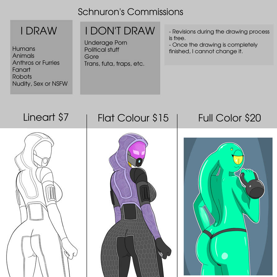 My Commissions 2020 (OPEN)