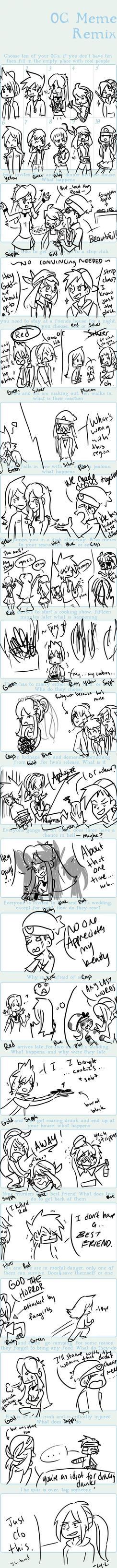 Pokemon Special Remix Meme by Ly-li