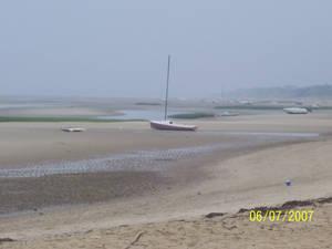 low tide, poor boats
