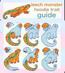 Leech Monsters - Hoodie Trait Guide