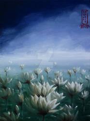 Lotus in the Mist by Anna-K-AREN