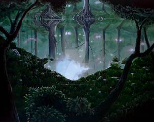 The Phantom Forest - Final Fantasy VI by Anna-K-AREN