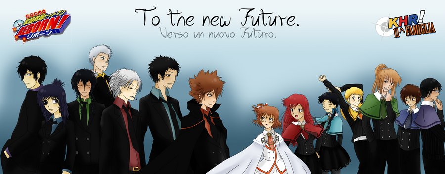 Katekyou Hitman Reborn: To the new Future by Lushia