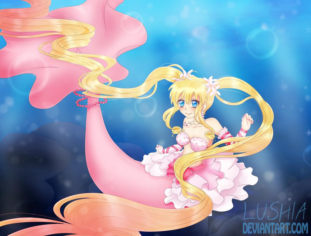 22 best mermaid images on Pinterest   Anime girls ...  Manga Mermaid Princess