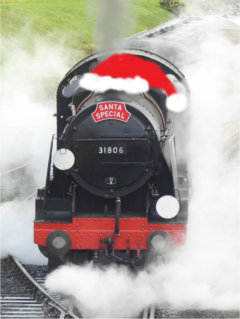 Santa Special loco by artjuggler