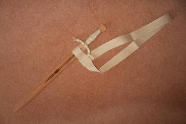 Baldric (sword belt) for wooden sword by artjuggler