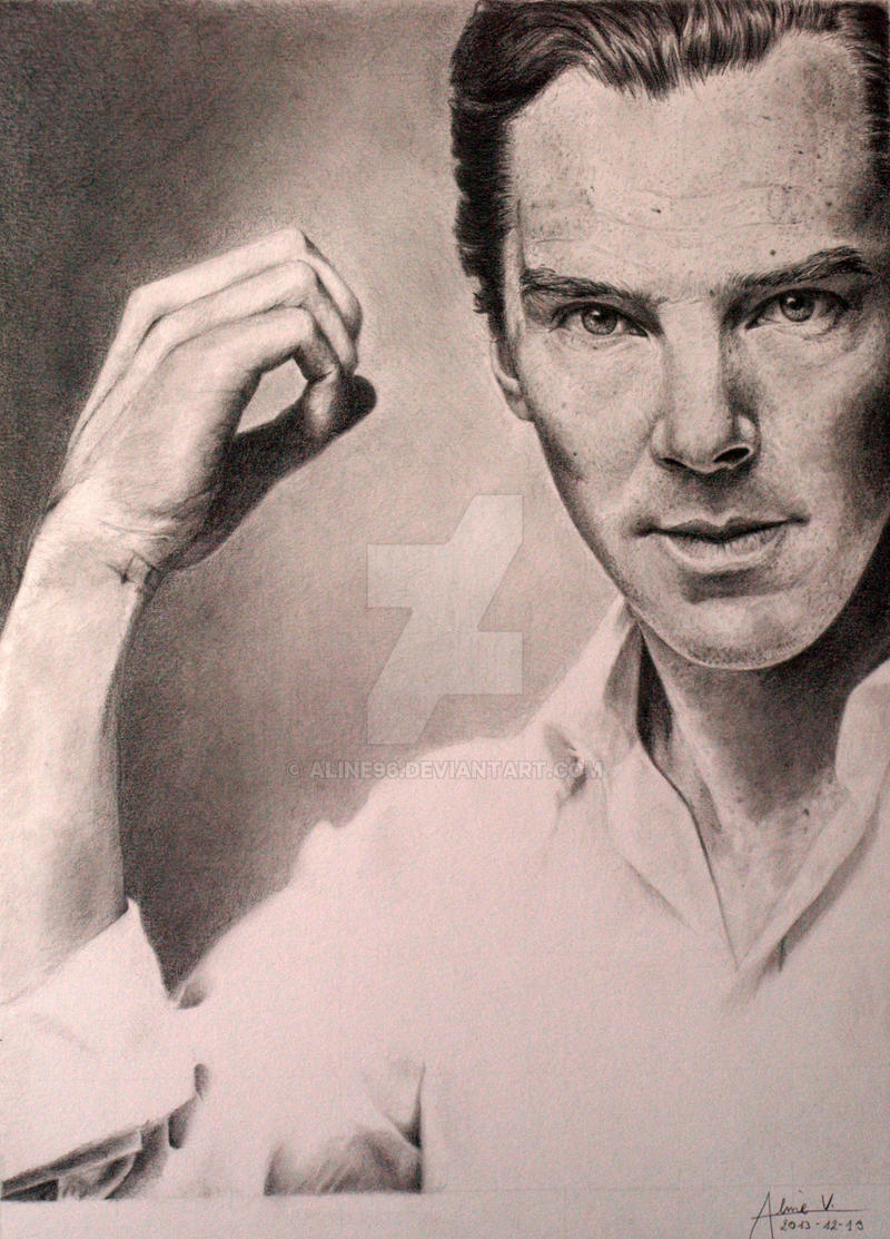 Benedict Cumberbatch by Aline96