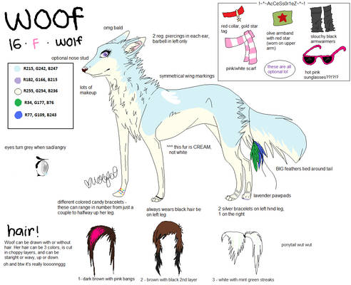 NEW Woof Reference