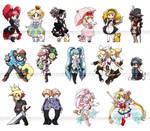 Chibi Stickers