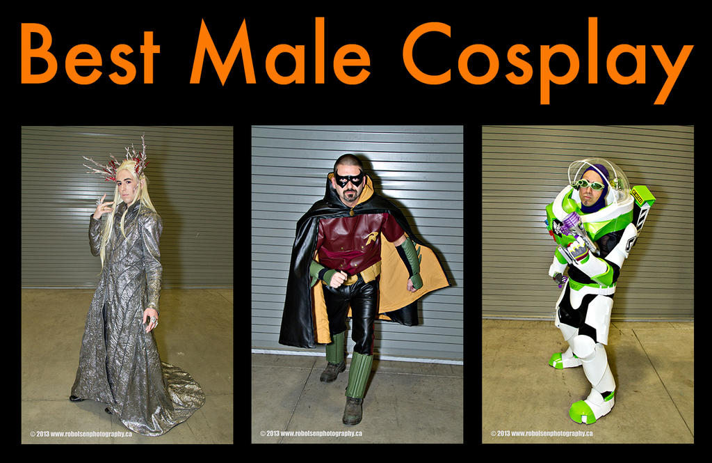 Top 3 Best Male Cosplay at Ottawa Pop Expo 2013 by