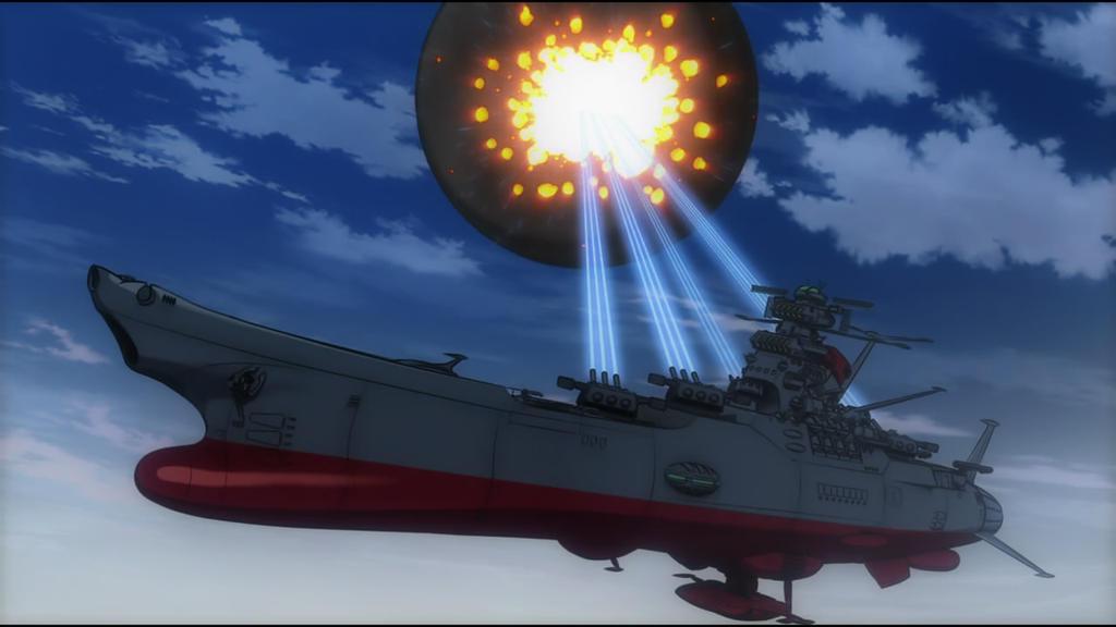Kết quả hình ảnh cho spaceship Yamato
