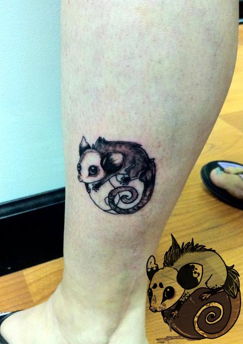 australian possum tattoo images tattoo design bild. Black Bedroom Furniture Sets. Home Design Ideas