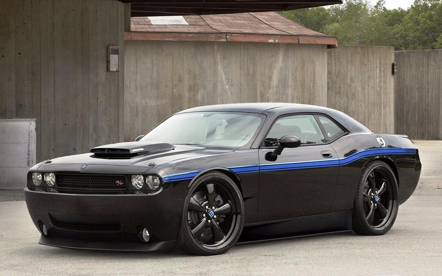 black dodge challenger wallpaper. Dodge Challenger Wallpaper