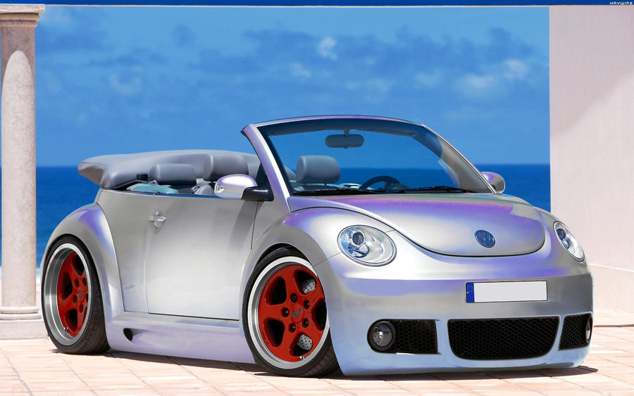 vw beetle cabrio 39 07 by hayw1r3 on deviantart. Black Bedroom Furniture Sets. Home Design Ideas