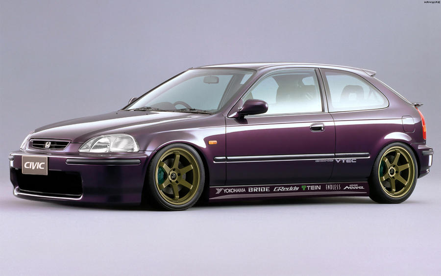 Honda Civic SIR II '96 by HAYW1R3 on deviantART
