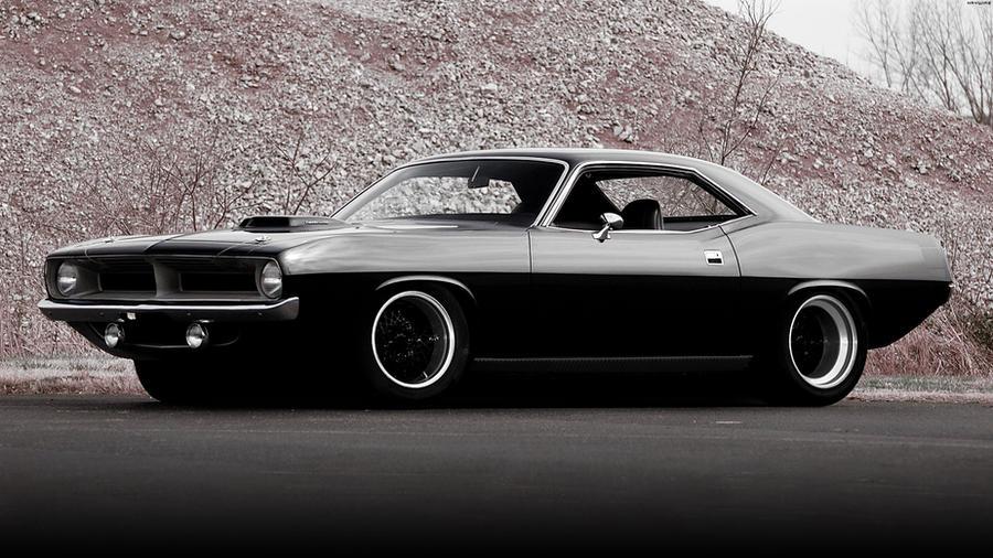 Plymouth Hemi Cuda '70 by HAYW1R3